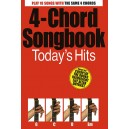4-Chord Songbook: Todays Hits