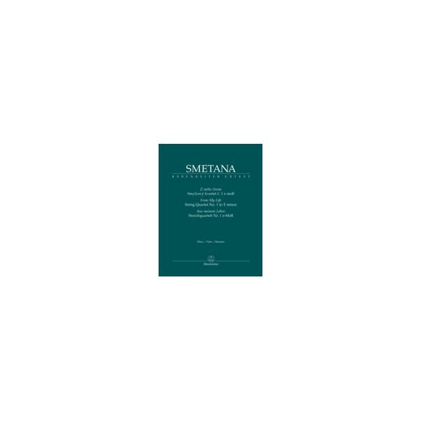 Smetana B. - String Quartet No. 1 in E minor  From My Life