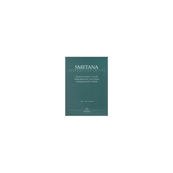 Smetana B. - String Quartet No. 2 in D minor