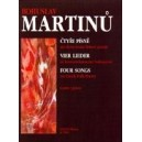 Martinu B. - Four Songs on Czech Folk Poetry