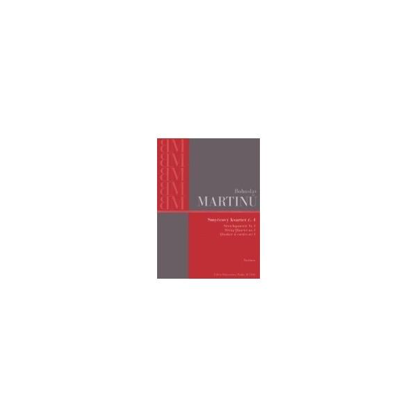 Martinu B. - String Quartet No. 4