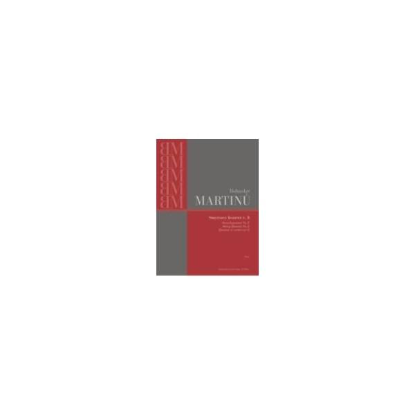 Martinu B. - String Trio No. 1