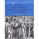 Michna A.V.Z.O. - Officium vespertinum - pars III - Composizioni ad honorem B. M. V.
