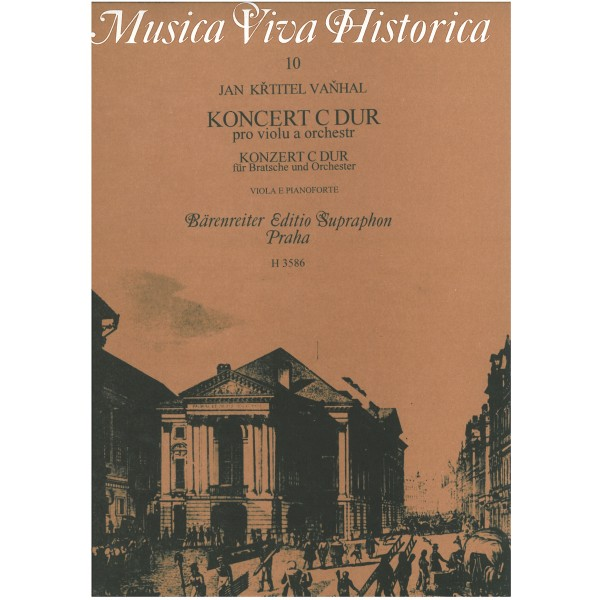 Vanhal J.K.(.B. - Concerto in C major for Viola and Orchestra