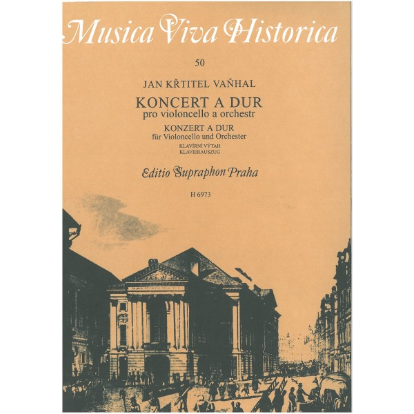 Vanhal J.K.(.B. - Concerto in A major for Cello and Orchestra
