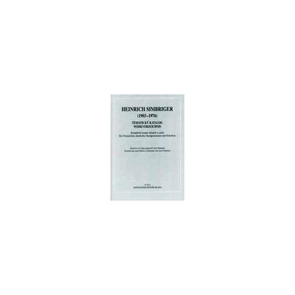 Simbriger H. - Heinrich Simbriger (1903-1976) - thematic catalogue