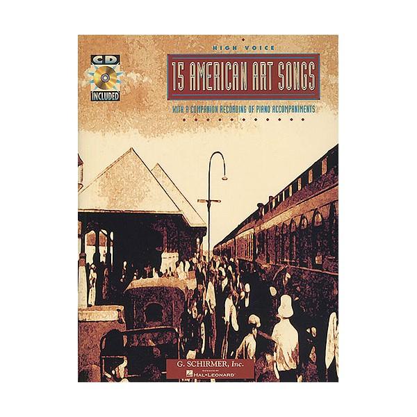 15 American Art Songs (High Voice) - 0