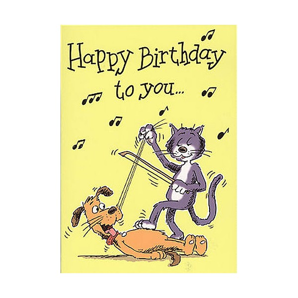 Music Gallery: Kids 1 Birthday Card