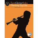 Solo Début Series: Easy Clarinet Solos: Playalong Pop Hits (Book/CD)