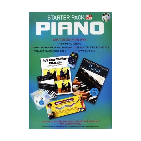 In A Box: Starter Pack Piano DVD Edition