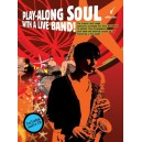 Play-Along Soul With A Live Band! - Alto Sax (Book And CD)