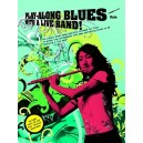 Play-Along Blues With A Live Band: Flute (Book And CD)