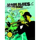 Play-Along Blues With A Live Band: Trumpet (Book And CD)