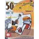 50 Tunes for Mandolin, Volume 1 - Traditional, Old Time, Bluegrass and Celtic Solos