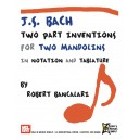 J.S. Bach: Two Part Inventions for Two Mandolins - In Notation and Tablature