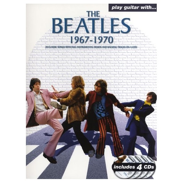 Play Guitar With... The Beatles 1967-1970