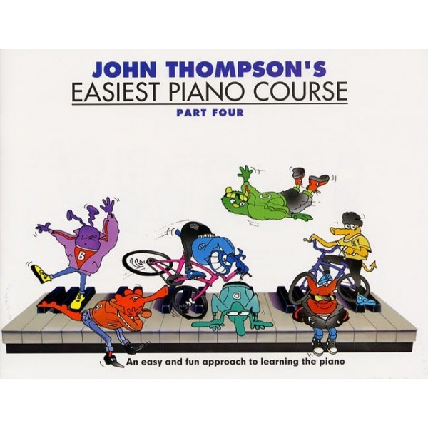 John Thompsons Easiest Piano Course: Part 4 - Revised Edition