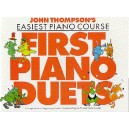 John Thompsons Easiest Piano Course: First Piano Duets