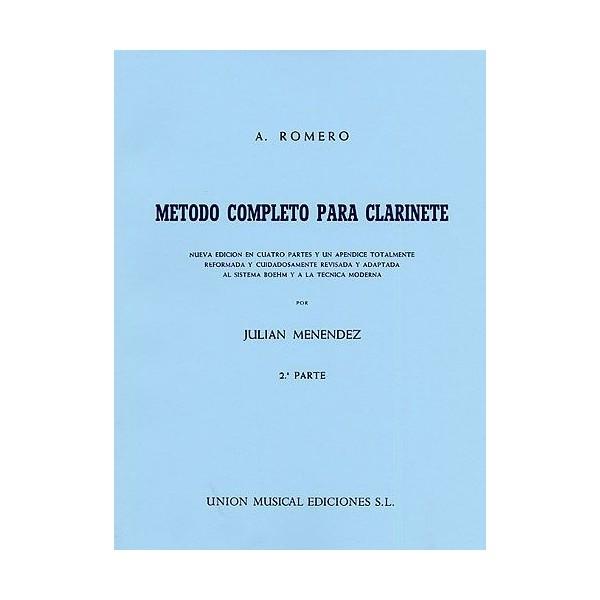 Romero Metodo Completo Para Clarinete (menendez) Part 2