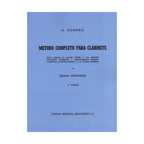 Romero Metodo Completo Para Clarinete (menendez) Part 4