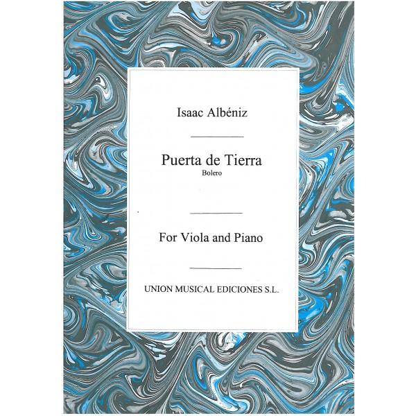 Isaac Manuel Francisco Albeniz: Puerta De Tierra-Bolero (Viola/Piano)
