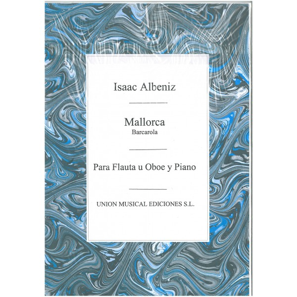 Albeniz: Mallorca Barcarola (Amaz) for Flute and Piano