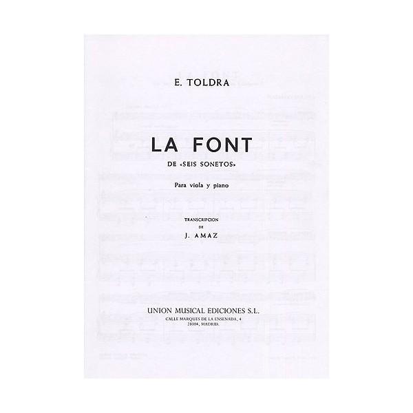 Toldra La Font Vla/pf