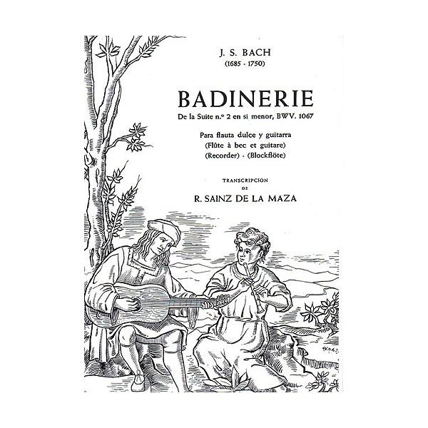Bach: Badinerie De La Suite No. 12 In B Minor BWV 1067