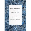 Xavier Montsalvatge: Concertino 1 And 13 (Score/Parts)