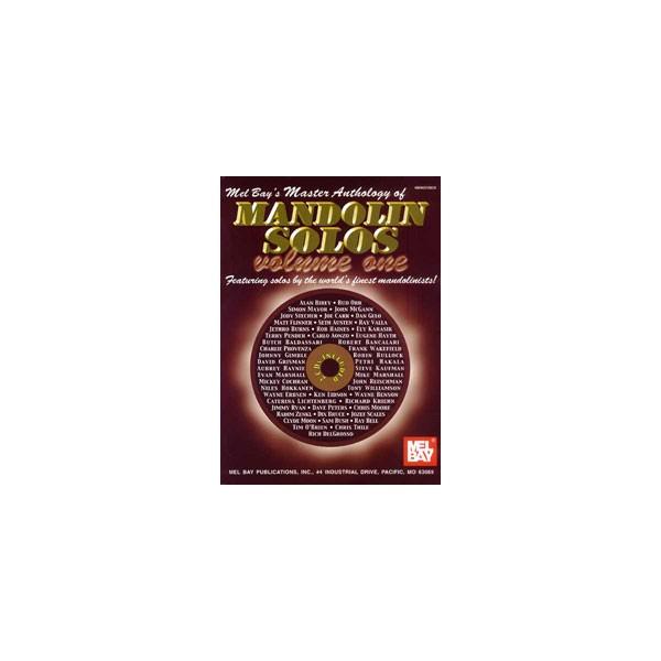 Master Anthology of Mandolin Solos, Vol. 1