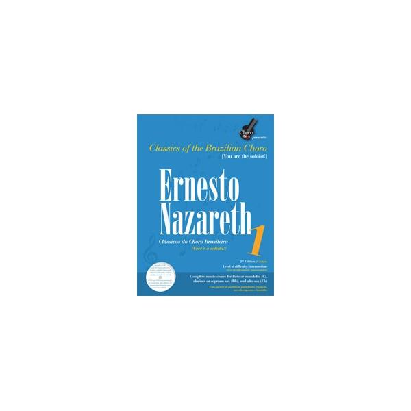 Ernesto Nazareth - Vol. 1, Brazillian Choro - 2nd Edition, Bilingual: Portuguese and English