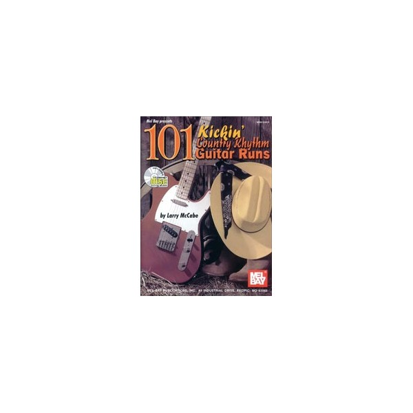 101 Kickin Country Rhythm Guitar Runs
