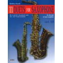 11 Duets for Saxophone - for Alto and/or Tenor Saxophone