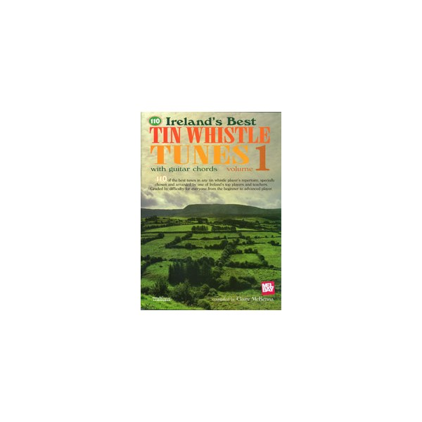 110 Irelands Best Tin Whistle Tunes, Volume 1 - with guitar chords
