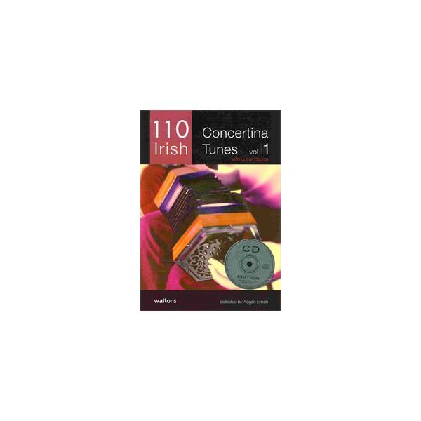 110 Irish Concertina Tunes, Vol. 1