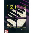 121 Fills for Gospel & Country Piano