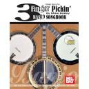 3 Finger Pickin Banjo Songbook