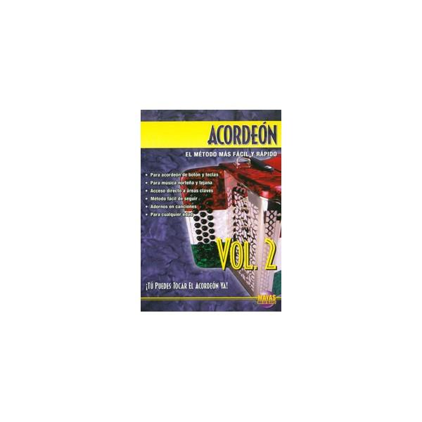 Acordeon Vol. 2, SPANISH ONLY