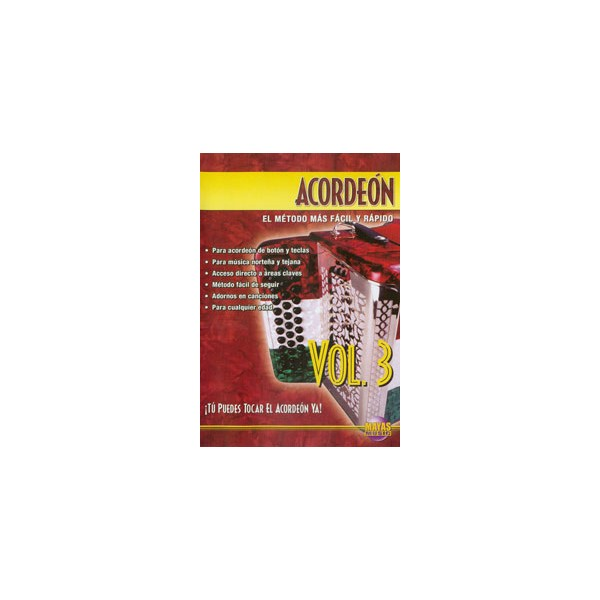 Acordeon Vol. 3, Spanish Only