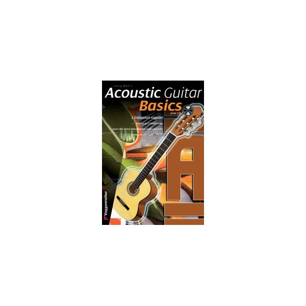 Acoustic Guitar Basics, French Edition