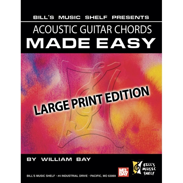 Acoustic Guitar Chords Made Easy - Large Print Edition