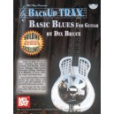 Backup Trax: Basic Blues for Guitar