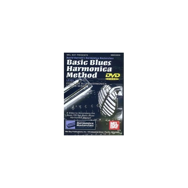 Basic Blues Harmonica Method DVD