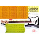 Bass Guitar Wall Chart - with Fingerboard Note & Master Chord Reference