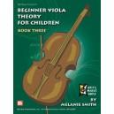 Beginner Viola Theory for Children, Book 3B