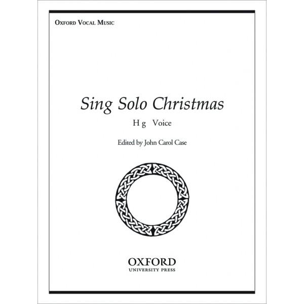 Sing Solo Christmas - Case, John Carol