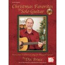 Christmas Favorites for Solo Guitar - Best-Loved Traditional Songs for Bluegrass Guitar