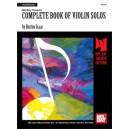 Complete Book of Violin Solos - Violin Part