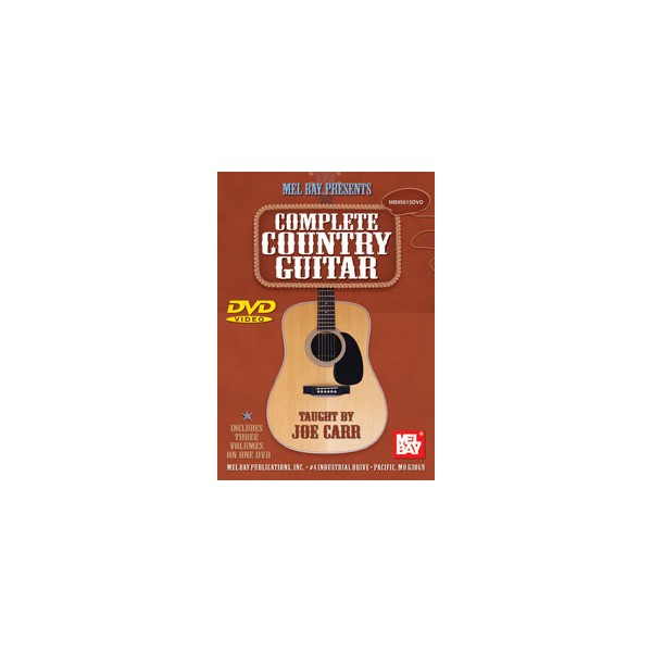 Complete Country Guitar Volumes 1, 2 and 3