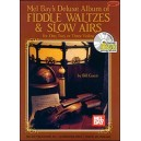 Deluxe Album of Fiddle Waltzes & Slow Airs - For One, Two, or Three Violins